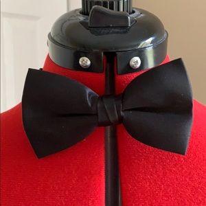 Bow Tie, Tuxedo Park, Satin Bow Tie, Easy Clip
